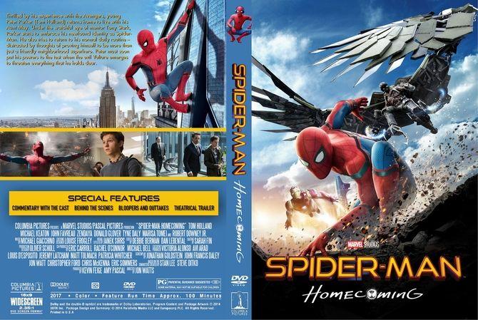 The Christmas Chronicles 2018 Dvd Cover.Spider Man Homecoming 2017 Dvd Custom Cover Custom Dvd