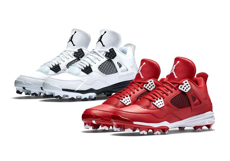 Jordan 4 Baseball Cleats | SneakerNews.com � Baseball GearBaseball  ShoesBaseball CleatsBaseball UniformsSoccer ...