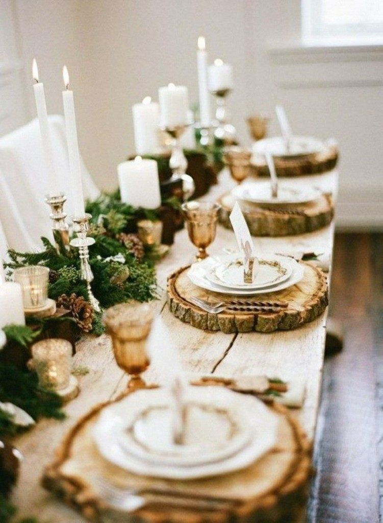 33 Simple Diy Thanksgiving Dinner Table Centerpieces Christmas Dining Table Winter Table Decorations Thanksgiving Table Decorations