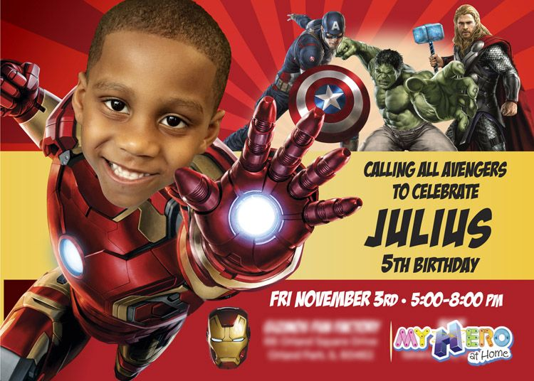 Ironman Birthday Party Invitation Nice Sample Ironman Birthday