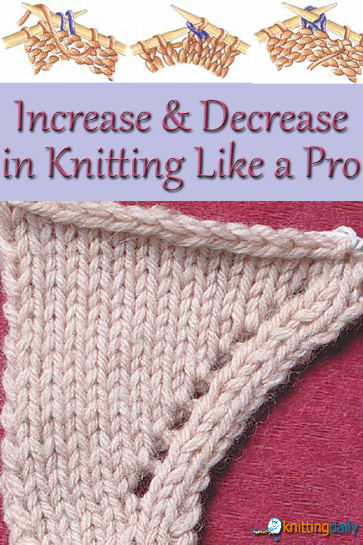 Knitting Increase Stitches : Unique knitting increase ideas on pinterest types of
