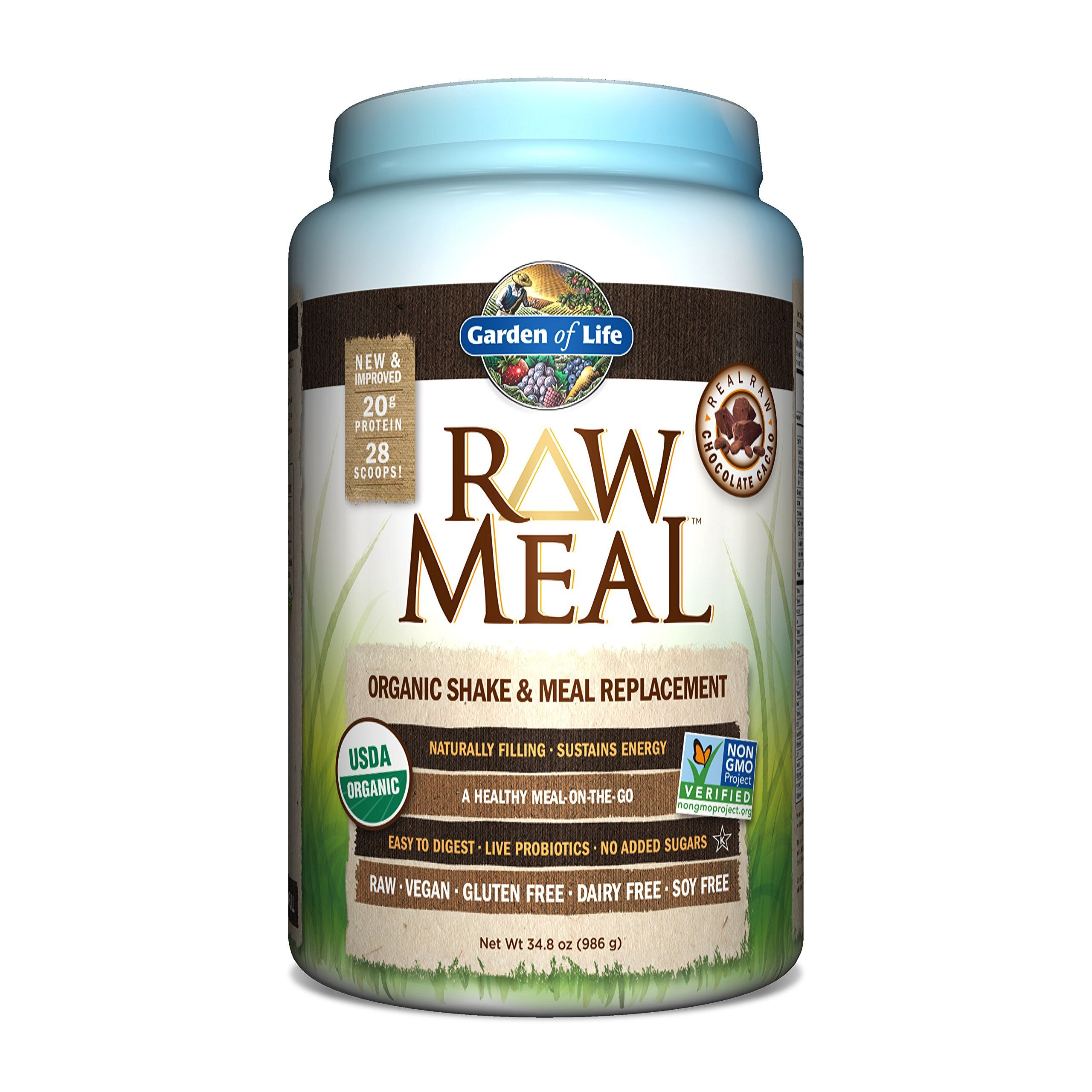 Garden Of Life Raw Organic Meal Chocolate 34 8 Oz Raw Food