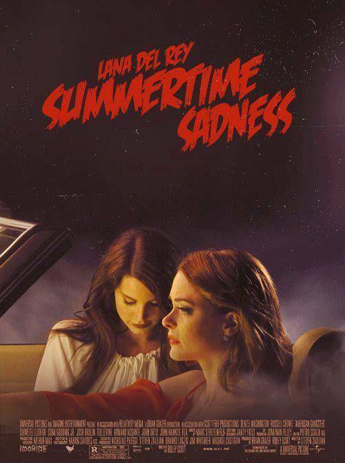 Lana Del Rey Summertime Sadness Lana Del Rey Lyrics Lana Del Rey Summertime Sadness