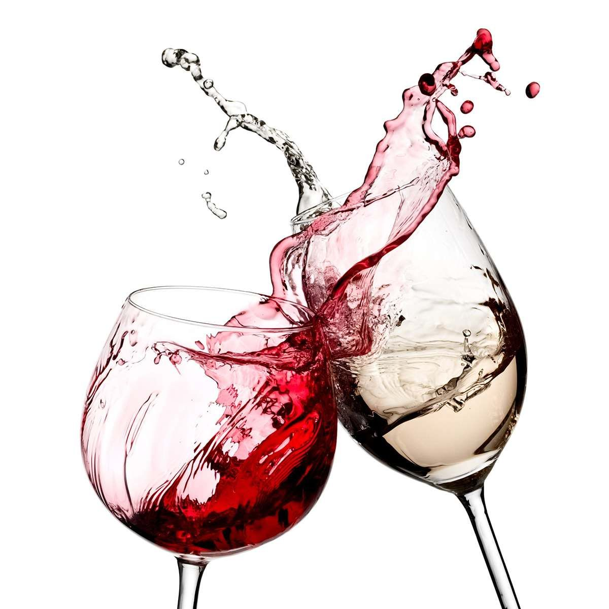 Red White Wine Glasses Wall Art Canvas Painting Nordic Kitchen Canvas Wall Art Pictures Living Room Bedroom Mur In 2020 White Wine Glasses Wine Pics Wine Glass Tattoo