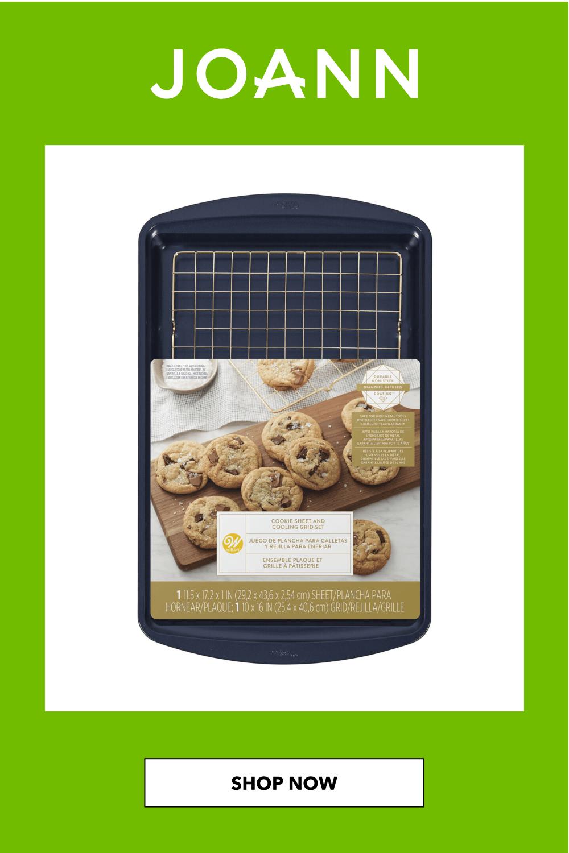 Wilton Large Cookie Sheet & Grid 11X17