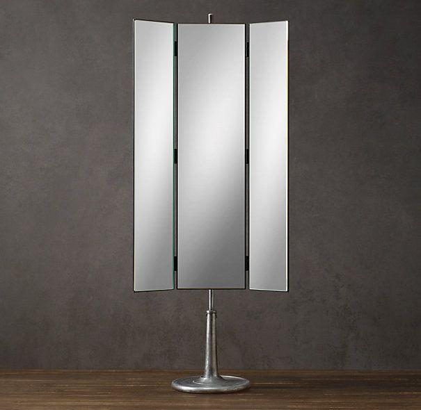 Perfect in a big walk in closet! Telescoping Dressing Mirror 3 Way ...