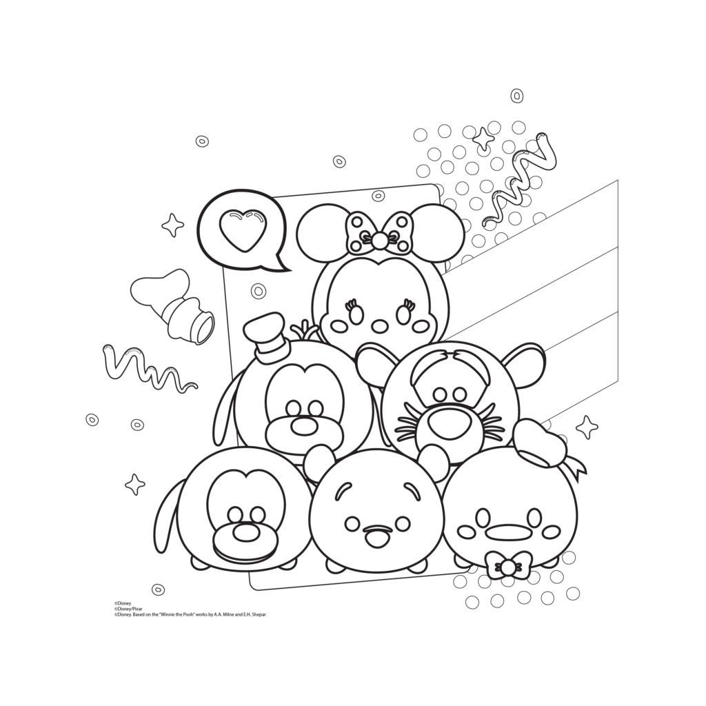 Equivalent Fractions Coloring Worksheet In 2021 Tsum Tsum Coloring Pages Shopkins Colouring Pages Coloring Pages