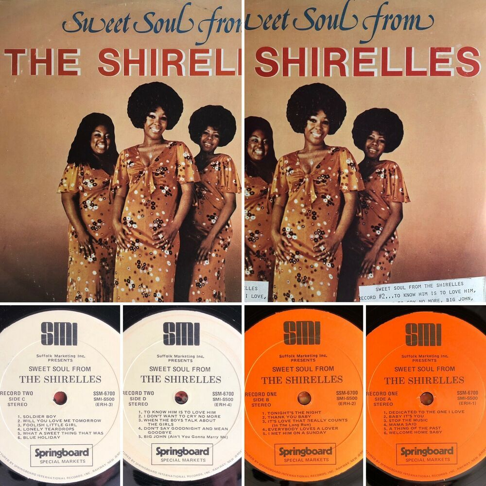 The Shirelles Sweet Soul From The Shirelles 2 Lp Ssm 6700 Vinyl Vg Tested The Shirelles Sweet Soul Vinyl