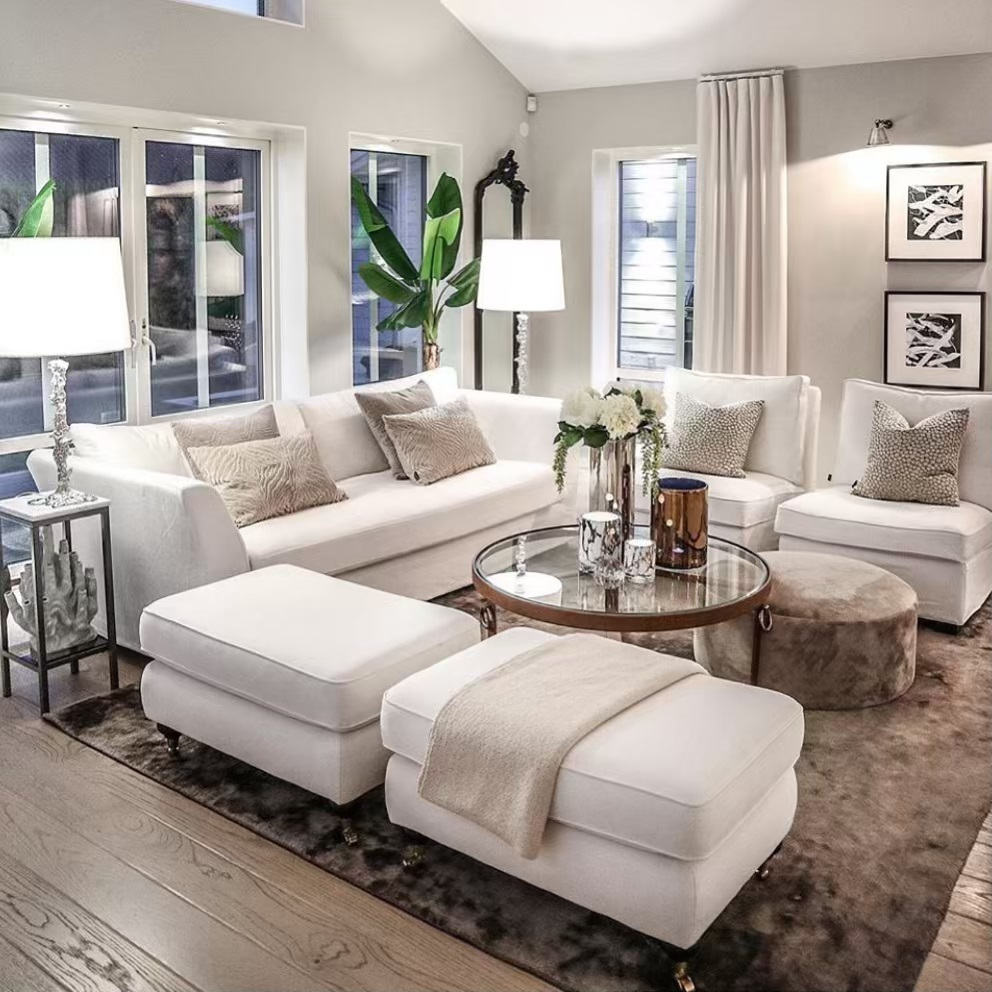 500 White Living Rooms Ideas In 2020 White Living Home D