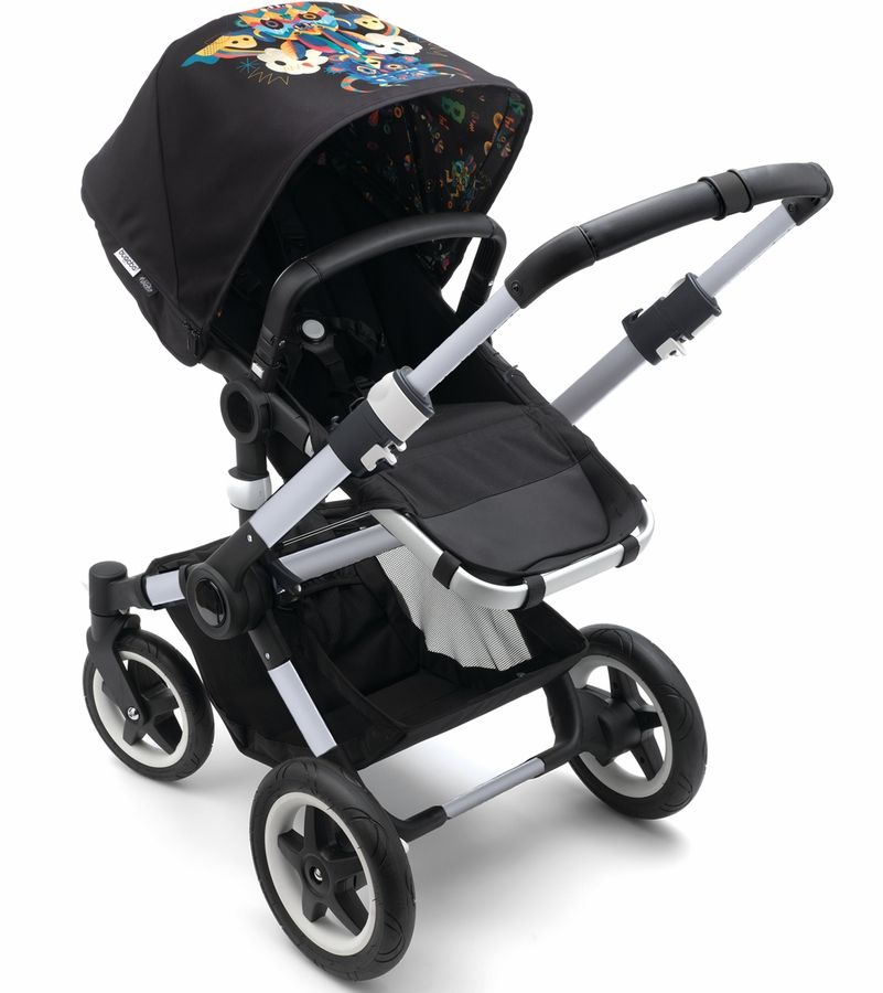 Share Bugaboo Buffalo Stroller Aluminum Black/Niark1