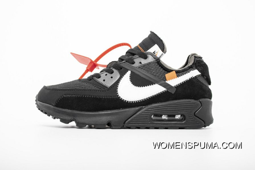 2019 的 Off White X Nike Air Max 90 All Black AA7293 001