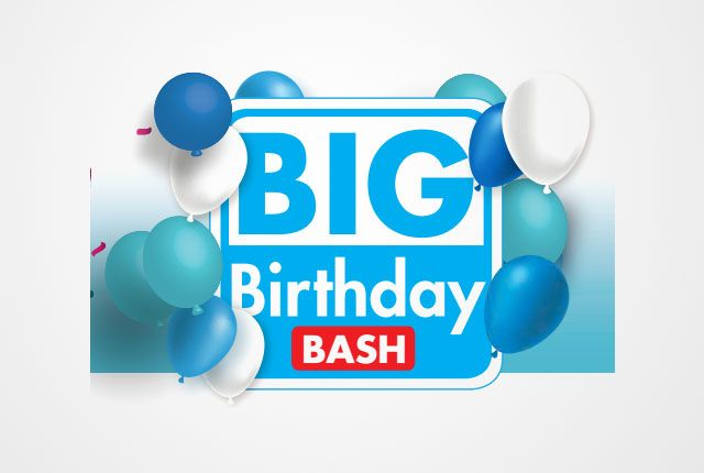 Big Makro Birthday Tech Sale With Images Birthday Birthday
