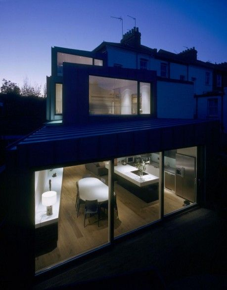 Focus House By Bere Architects In New Finsbury Park London United Kingdom House Architect House Model Homes