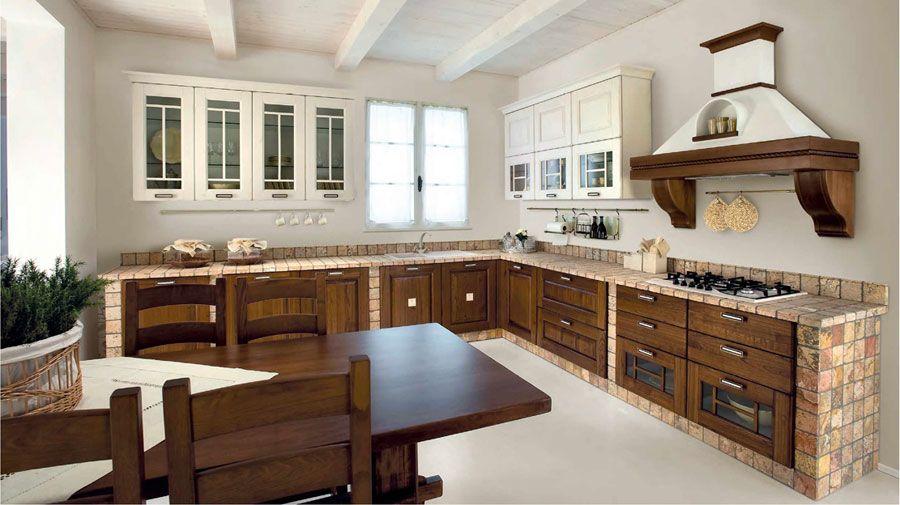 50 Foto di Cucine in Muratura Moderne | Cucina | Kitchen Cabinets ...