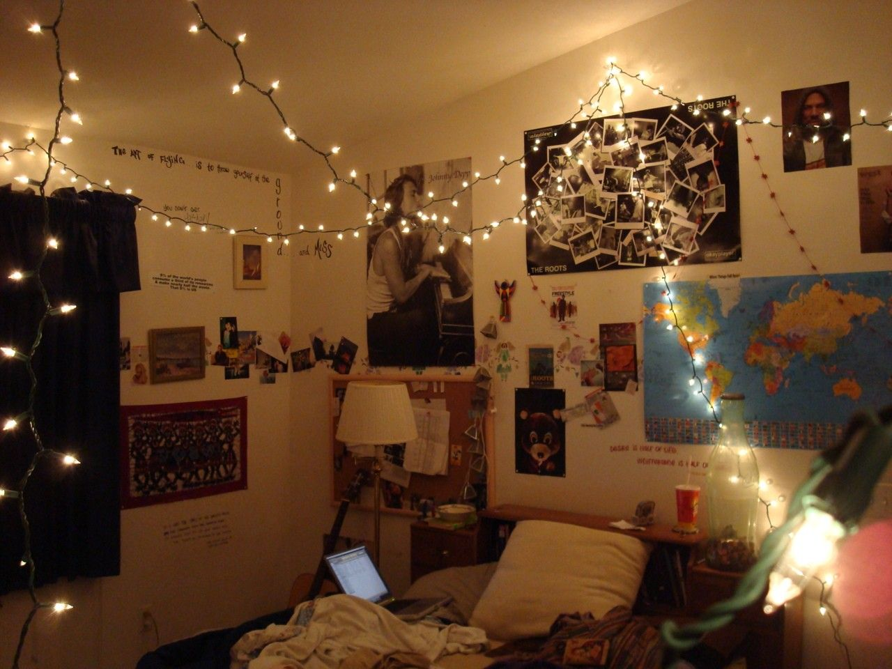 Tumblr bedrooms with lights - Diy Tumblr Room Decor Pinterest Google Search