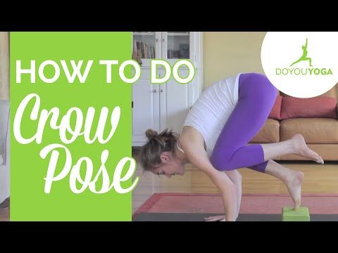 how to do crow pose  day 7  30 day yoga challenge