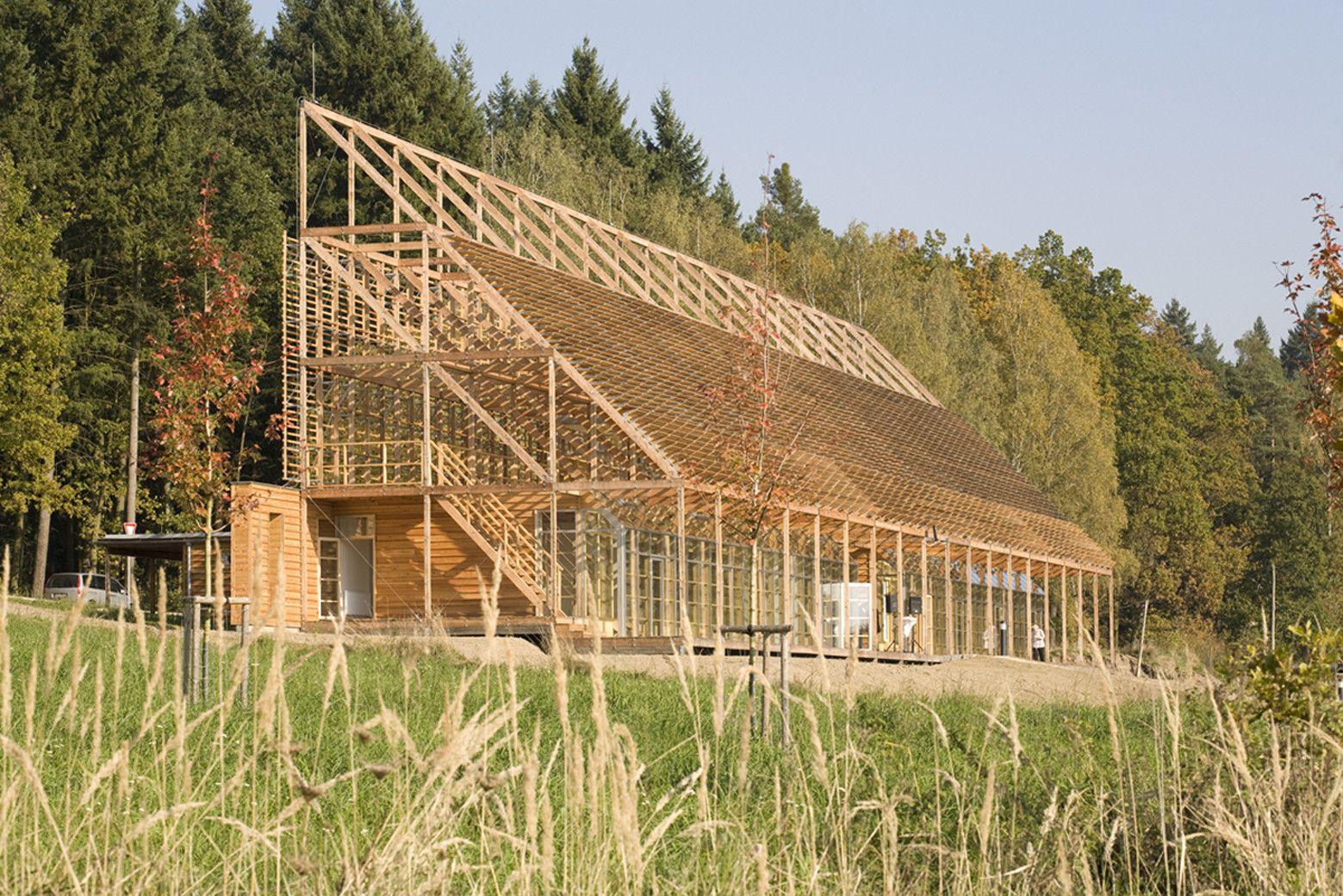 Pisek City Forest Administration / e-MRAK | Architecture, Facades ...