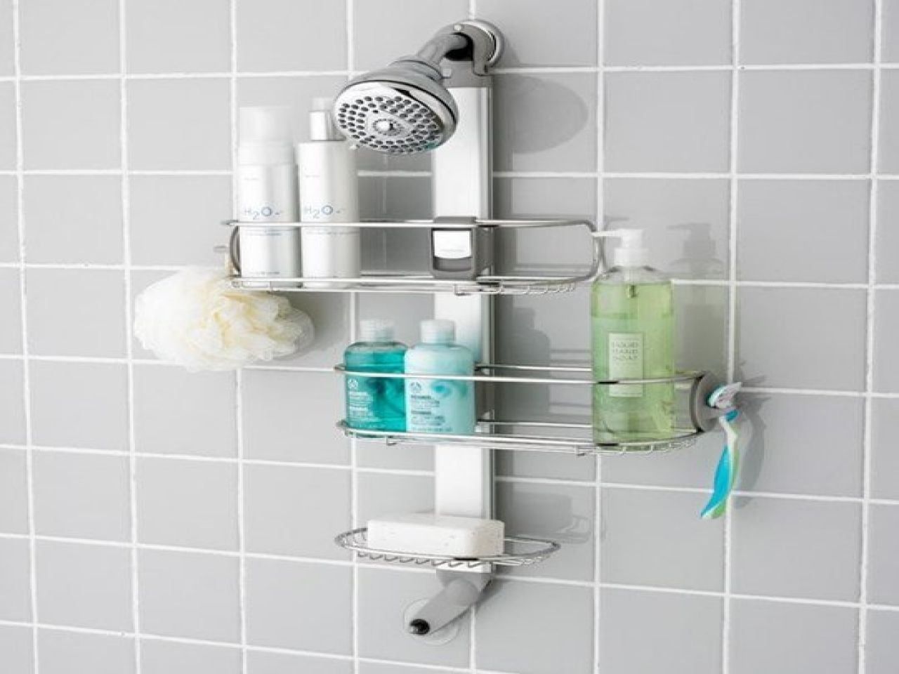 shower caddy bed bath and beyond bathroom buy large from amp ...