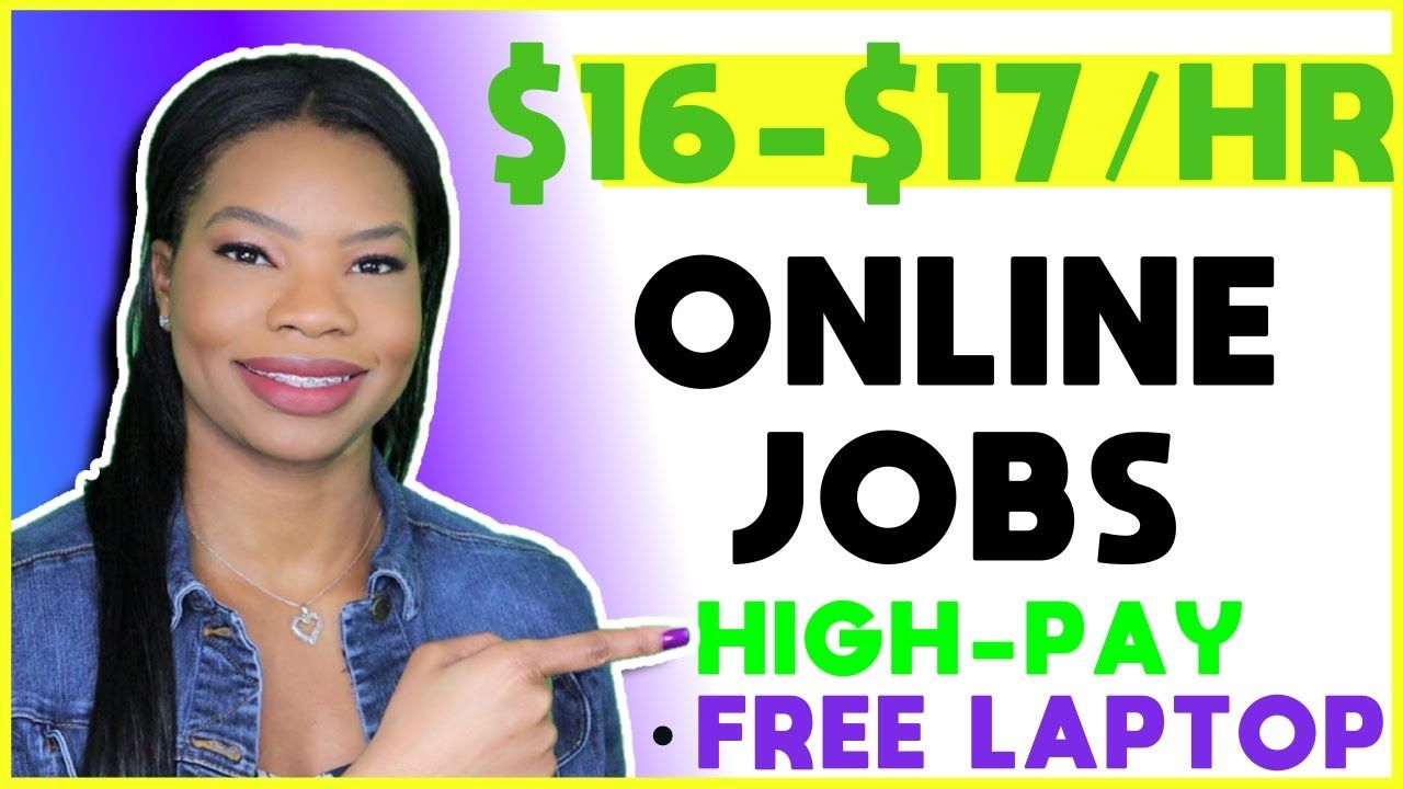 No Experience WorkFromHome Jobs. FREE LAPTOP! 💻 Apply