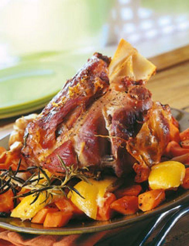 Photo of Veal shank with cumin and carrots with candied lemon