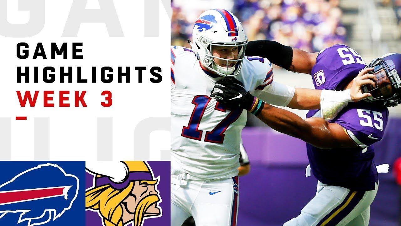 Bills vs. Vikings Week 3 Highlights NFL 2018 YouTube