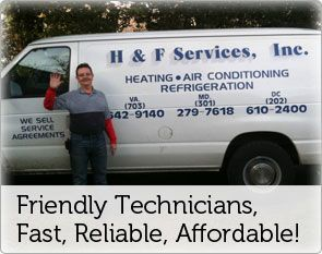 Alexandria Air Conditioning H And F Service Co Carries An