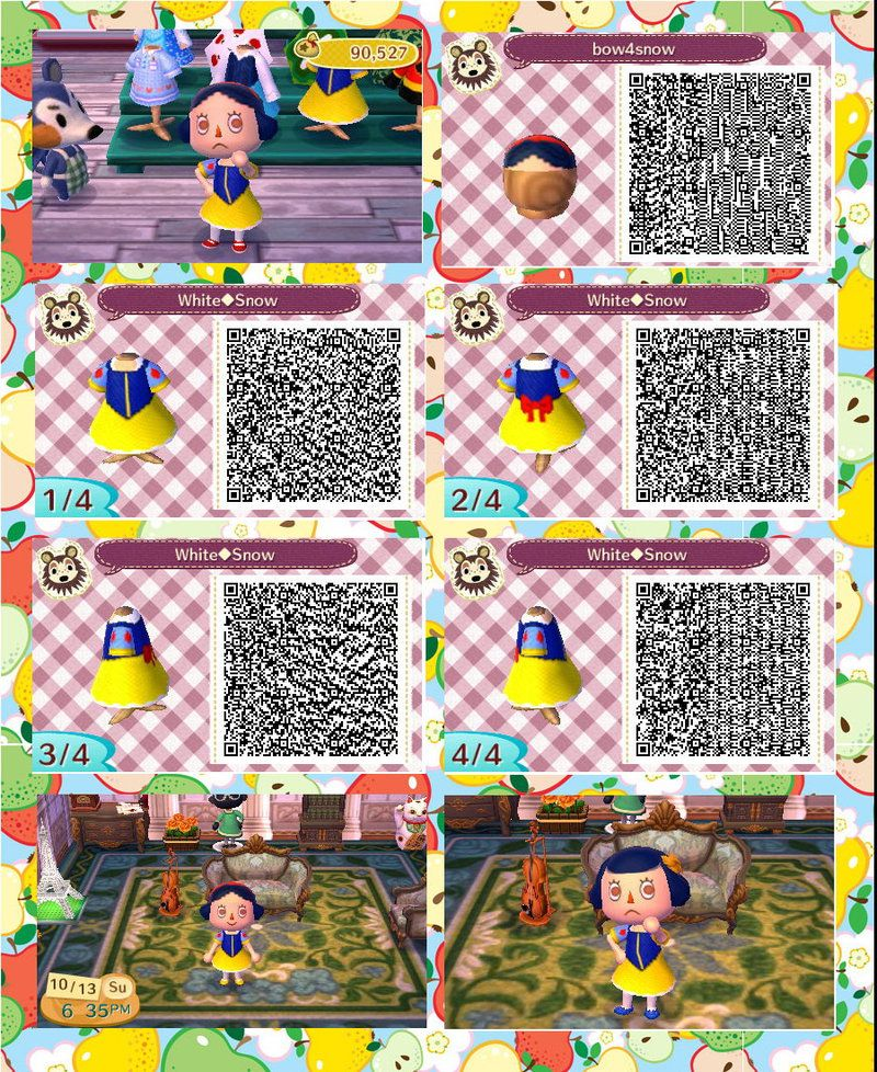 Animal Crossing: New Leaf QR code outfit 2 by Rasberry-Jam