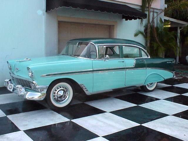 1956 Chevrolet Bel Air 4 Door Sedan Chevrolet Bel Air Chevrolet