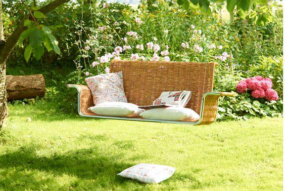 Hängeschaukelbank carmöbel 210€ +Versand | Garten | Pinterest | Car ...