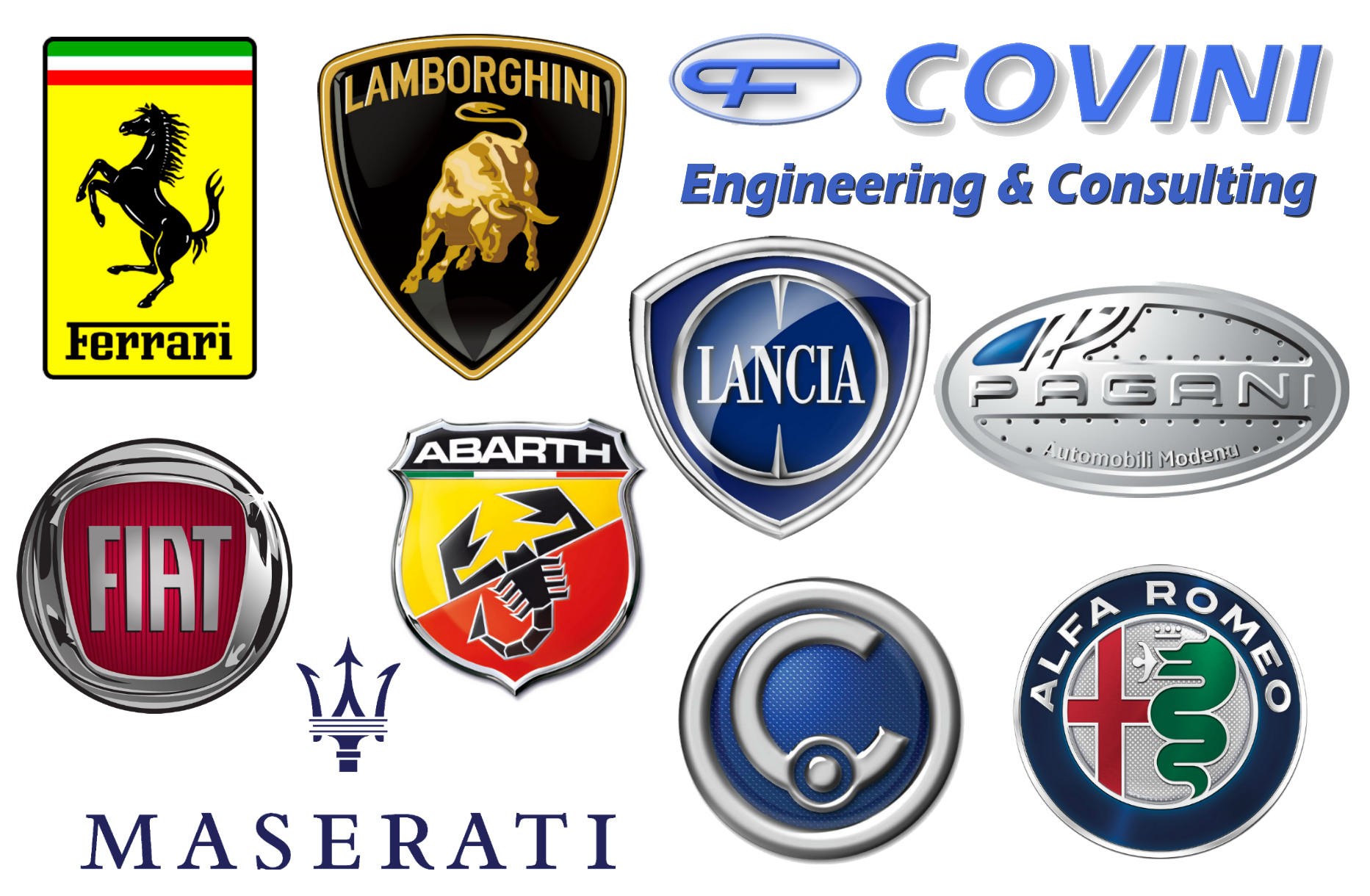 Manufacturers From Italy Are Best Known For Producing Mass Market - Car sign with namesall car brands best car commpanies