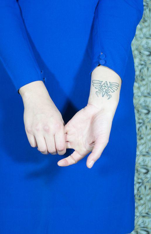 Laura's Zelda tattoo!