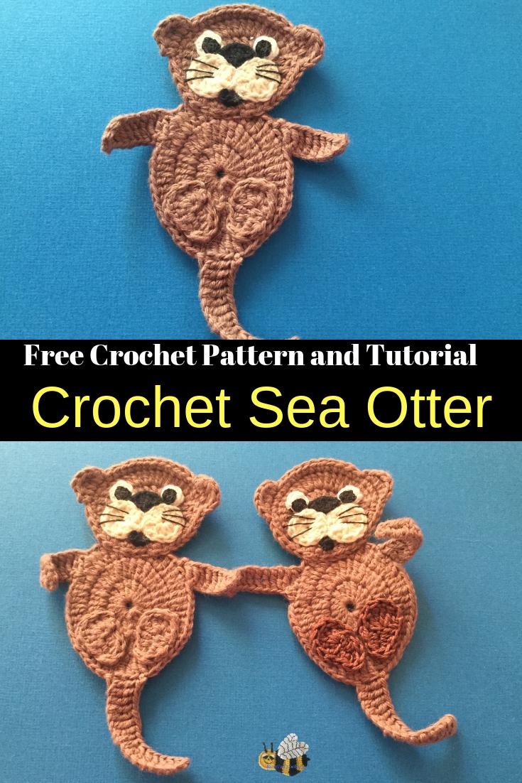 Crochet Sea Otter Pattern