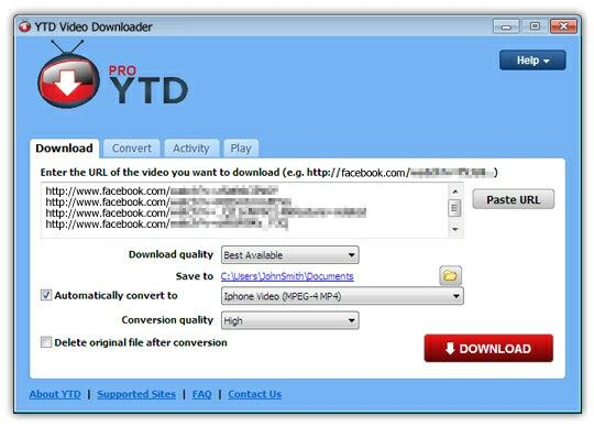 YTD Video Downloader Crack Full Free Version Download | Softwarebits