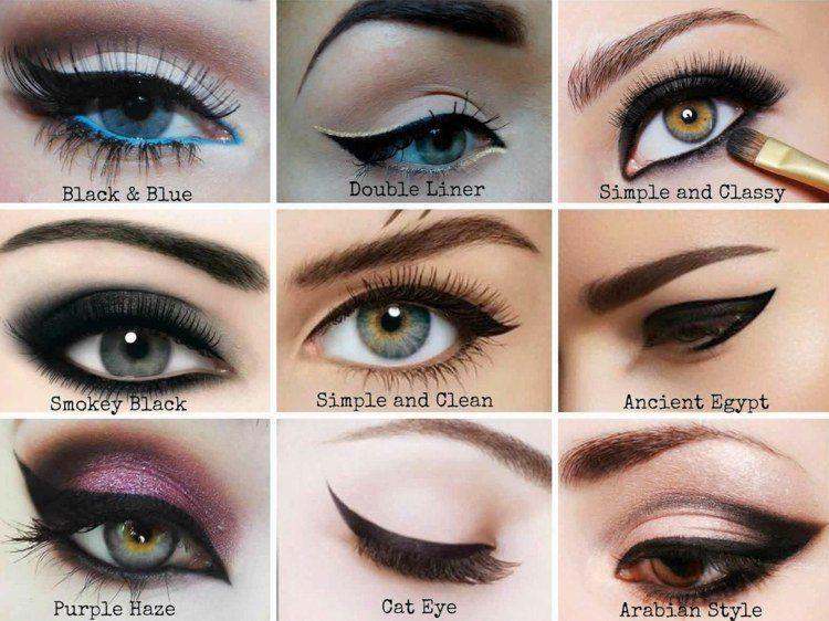Se bien maquiller les yeux selon la forme syles d 39 eye - Comment bien se maquiller les yeux ...