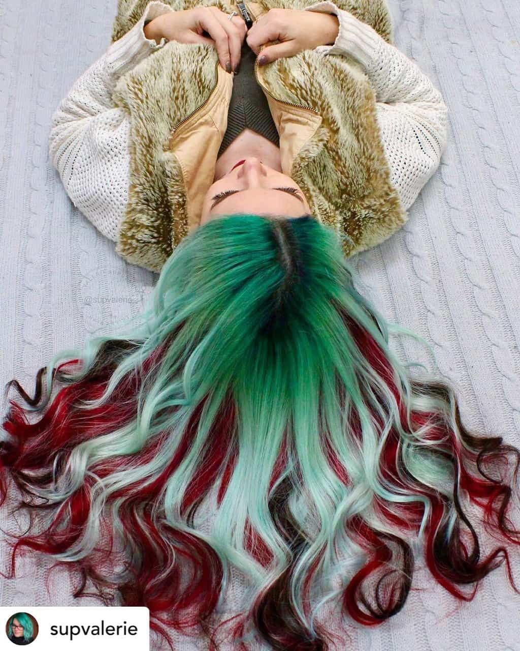 Most Popular Colors 2021 Christmas 10 Brilliant Shades Of Christmas Hair Color 2021 Ultimate Guide Winter Hair Color Holiday Hair Color Silver Hair Color