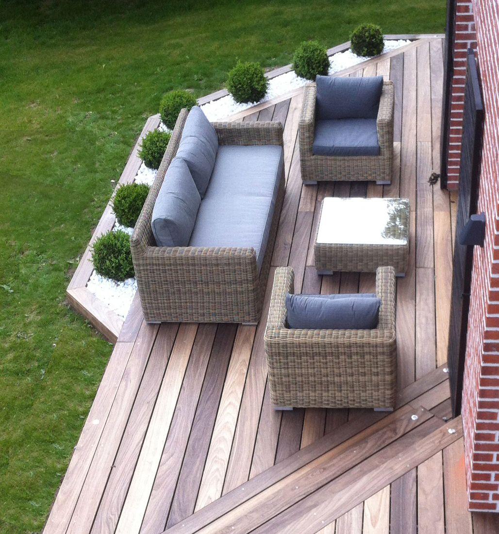 Aménagement jardin, modification terrasse, terrasse en bois arras ...