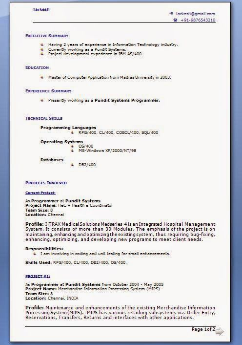 good cv template uk Sample Template Example of ExcellentCV - windows resume template