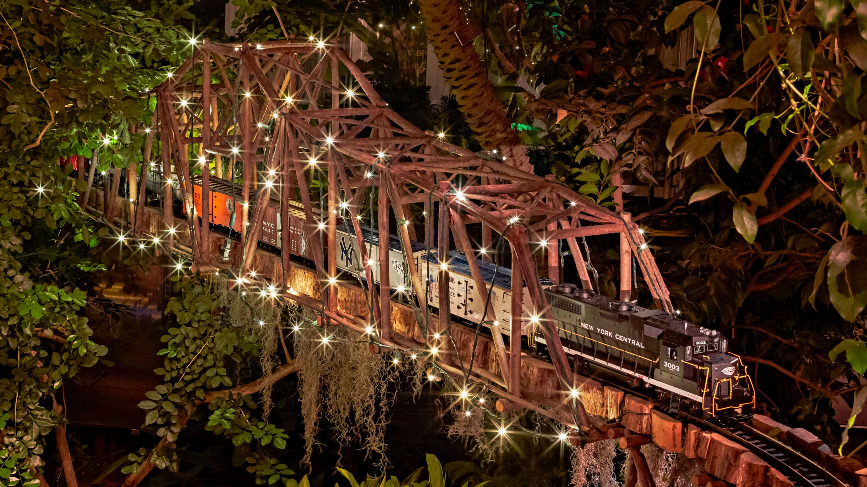 Holiday Train Show Ny Botanical Gardens