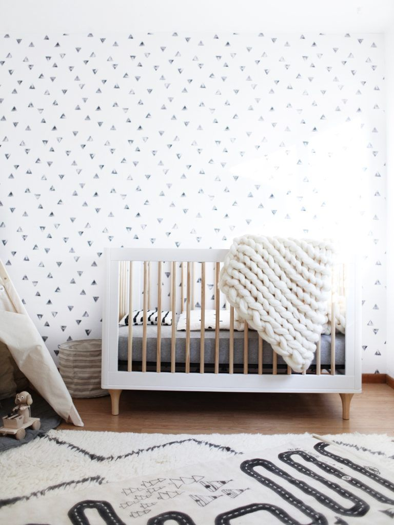 Hs room the reveal babyletto lolly crib in white and natural