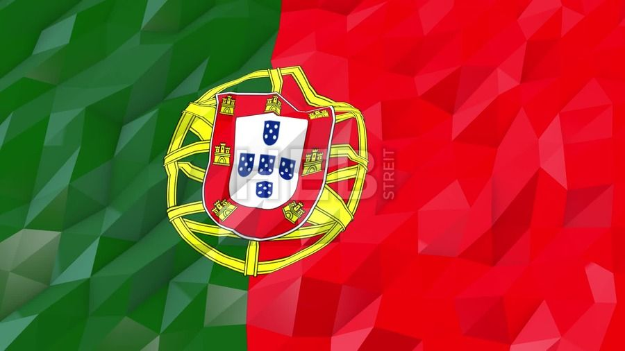Flag Of Portugal 3d Wallpaper Animation Digital Flags Downloads