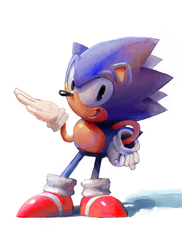 Way Past Cool Sonic The Hedgehog Sonic Classic Sonic