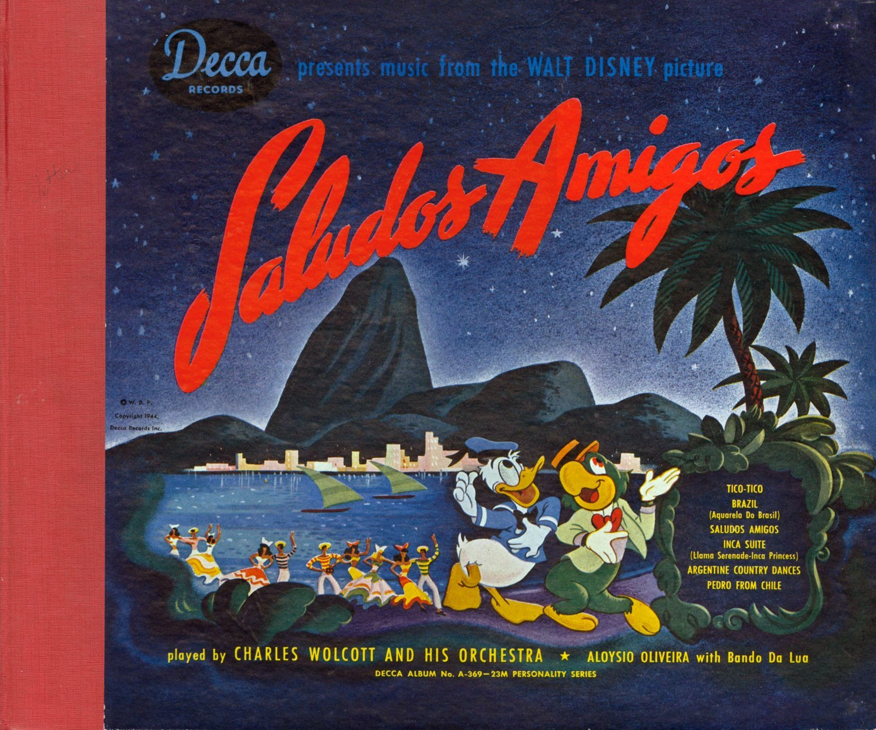 Aquarela Do Brasil Brazil Disney Music Walt Disney Pictures