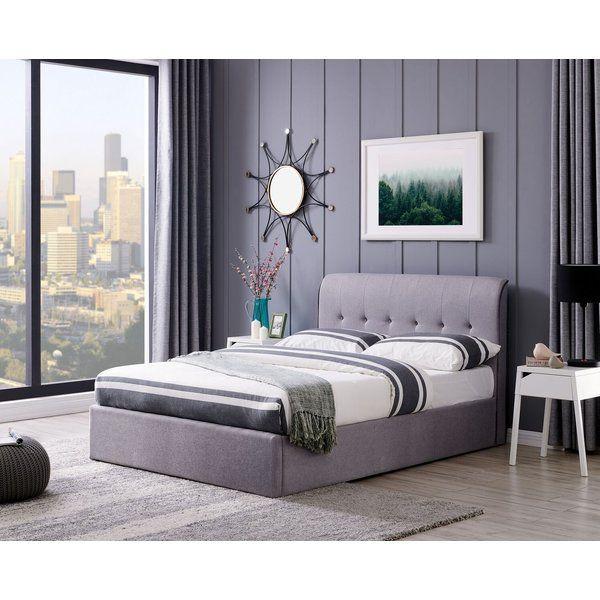Astounding Gaener Upholstered Storage Ottoman Bed In 2019 Main Lamtechconsult Wood Chair Design Ideas Lamtechconsultcom