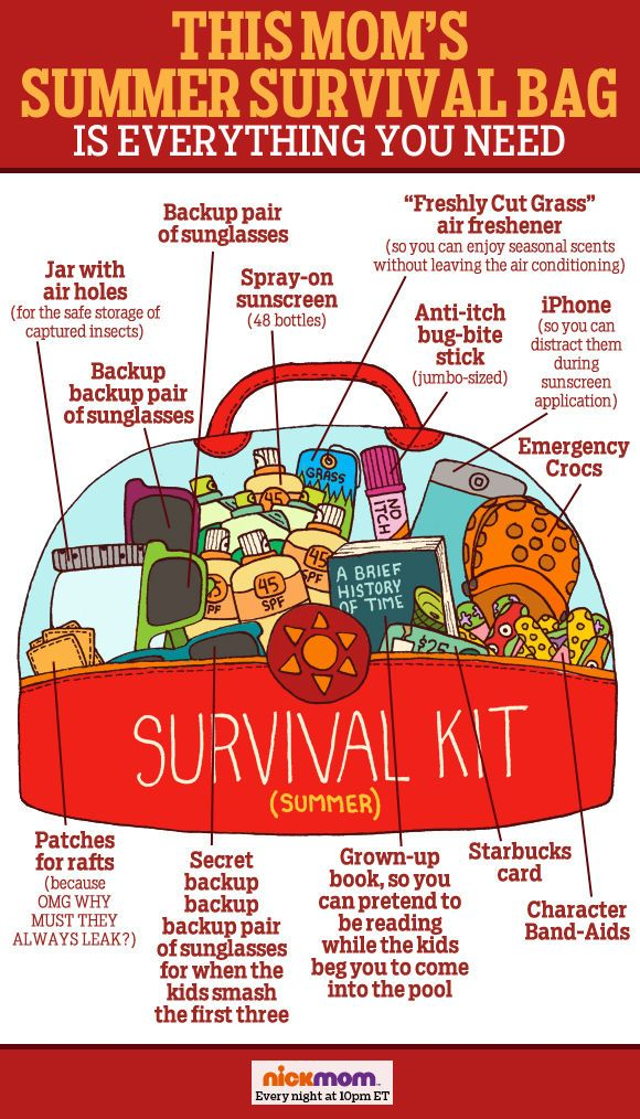 This Mom's Summer Survival Bag is Everything You Need
