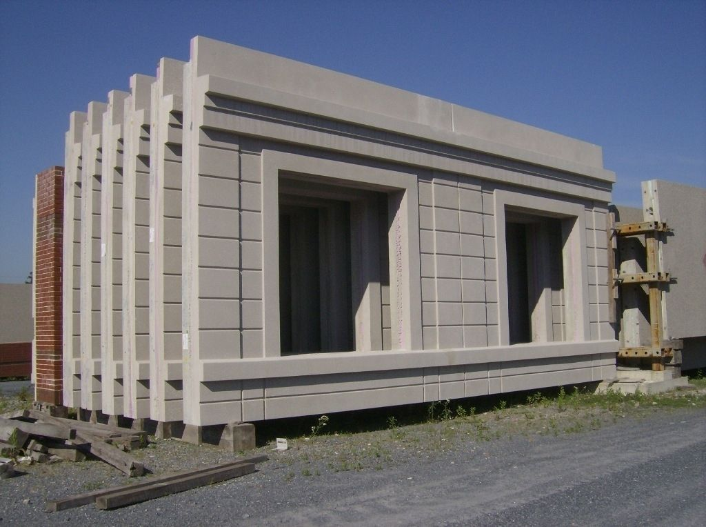 Concrete Building Panels : Decorative precast concrete wall panels