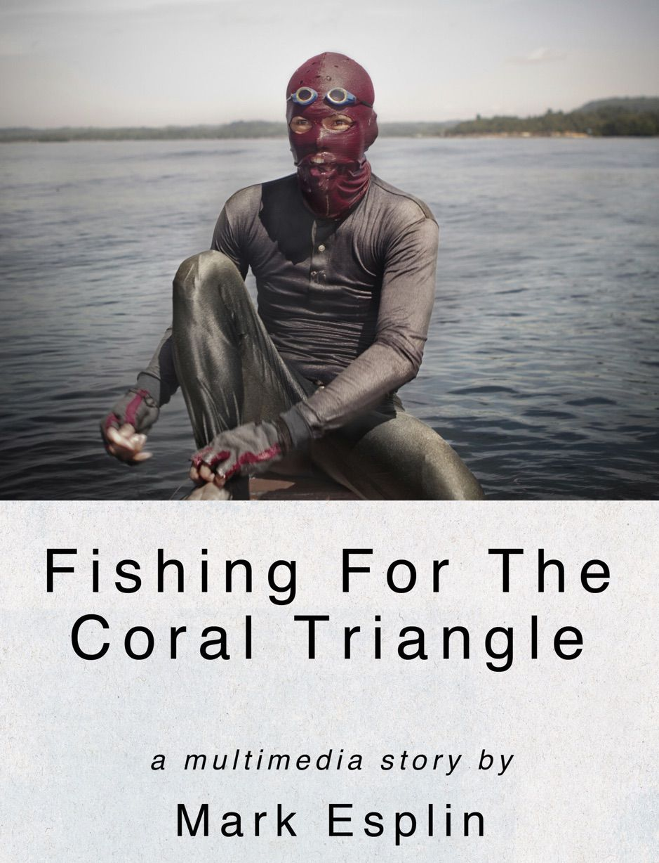 Fishing for the Coral Triangle , ad, Triangle,