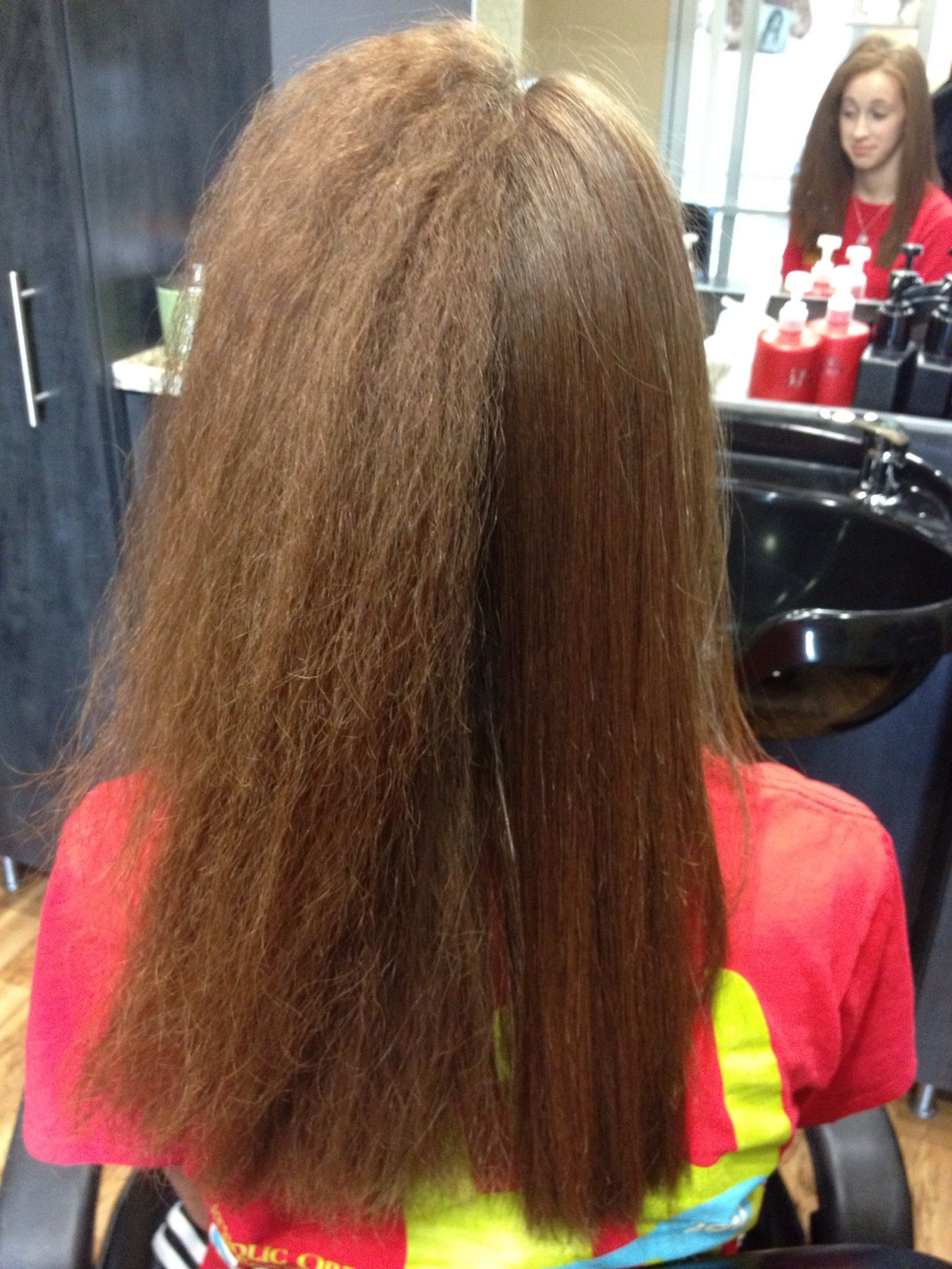 Amazing and Real results from the Brazilian Blowout