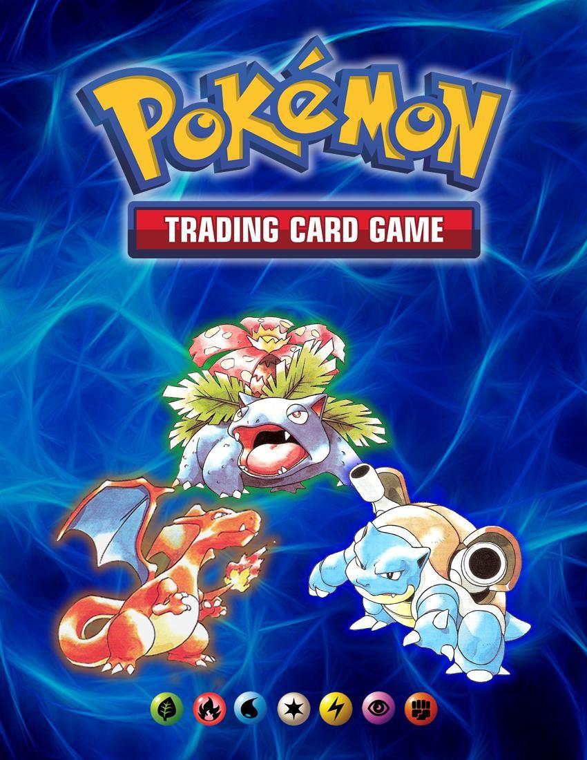 Tcg Covers Pokemon Printables Binder Cover Templates Pokemon Binder