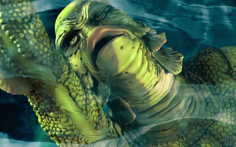 Best 48 Creature From The Black Lagoon Wallpaper On Hipwallpaper