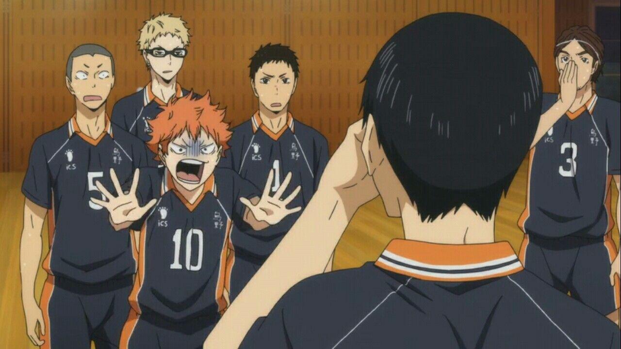 Pin by DarkShadow64 on Anime 5 Sports Haikyuu, Haikyuu